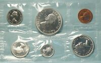 CANADA 1964  6 COIN  SILVER CHARLOTTETOWN PROOF LIKE SET NR