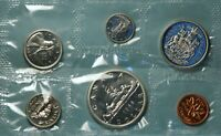 CANADA 1966  6 COIN  SILVER PROOF LIKE SET NR