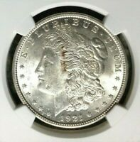 1921 VAM 1E NGC MINT STATE 61 MORGAN SILVER DOLLARGENE L HENRY LEGACY COLLECTION