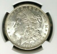 1921-D VAM 1B1 NGC MINT STATE 61 MORGAN SILVER DOLLARGENE L HENRY LEGACY COLLECTION