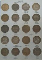 AUSTRALIA  PENNY COIN COLLECTION FROM 1911 1964  IN ALBUM