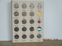 50 UNCIRCULATED  STATE QUARTERS  COMPLETE SET   ALBUM/FOLDER    EXTRAS