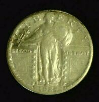 1924-S STANDING LIBERTY SILVER QUARTER WITH LUSTRE   REDUCED 7/6/20  7662