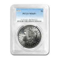 PRE 21 PCGS MS65  MORGAN SILVER DOLLAR WITH RANDOM DATE  MSF