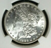 1886 VAM 17 NGC MINT STATE 63 MORGAN SILVER DOLLAR - GENE L. HENRY LEGACY COLLECTION