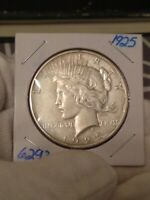1925P PEACE DOLLAR CIRCULATED GREAT CONDITION