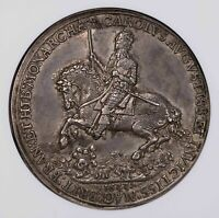NGC AU58 1633 GREAT BRITAIN RETUNE OF CHARLES I TO LONDON SILVER MEDAL
