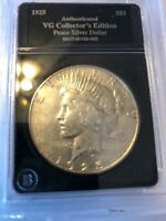 BETTER - 1925-S - PEACE SILVER DOLLAR - 90 US COIN 232