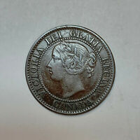 1859/9 CANADIAN LARGE CENT NICE