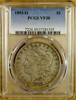 1893-O PCGS VF30 MORGAN DOLLAR
