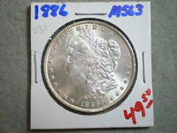 1886 MORGAN SILVER DOLLAR/  ORIGINAL   --^^UNCERTIFIED^^----SHIPS FREE---