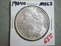 1904-O MORGAN SILVER DOLLAR/ BEAUTIFUL ORIGINAL   --^^UNCERTIFIED^^--FREE SHIP
