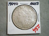 1904-O MORGAN SILVER DOLLAR/  TONING   --UNCERTIFIED--SHIPS FREE-----