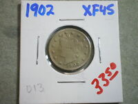 1902 LIBERTY NICKEL UNCERTIFIED---  AND SHIPS FREE-----------