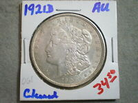 1921-D MORGAN SILVER DOLLAR/ CLEANED   --UNCERTIFIED----SHIPS FREE-------