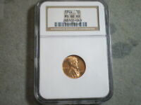 1944 LINCOLN WHEAT CENT MINT STATE 66RD NGC