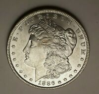 WEEKLY SPECIAL 1886 MORGAN UNCIRCULATED 90 SILVER $1