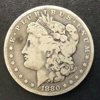 1880-O MORGAN SILVER DOLLAR U.S. COIN A0145