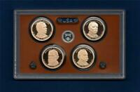 2012 S PROOF PRESIDENTIAL DOLLAR SET   ULTRA CAMEO  4 COINS