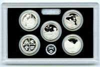2019 S US MINT ATB .999 FINE SILVER PROOF 5 COIN QUARTER SET