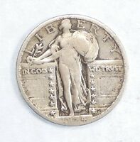 1924 STANDING LIBERTY QUARTER FINE SILVER 25-CENTS