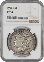 1903-S $1 NGC VF30 - KEY DATE - MORGAN SILVER DOLLAR - KEY DATE