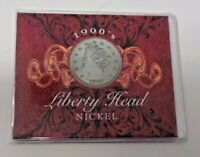 1901 US LIBERTY HEAD NICKEL COLLECTOR CASE HOLDER COA