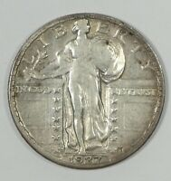 BARGAIN 1927-S STANDING LIBERTY QUARTER EXTRA FINE SILVER 25C