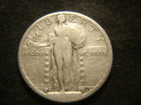 1924-S WEAK DATED 4 SHOWS STANDING LIBERTY QUARTER CAL