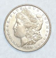 PROOF-LIKE 1890 MORGAN DOLLAR ALMOST UNCIRCULATED  SILVER DOLLAR