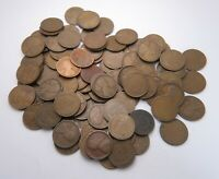 1915 D LINCOLN WHEAT PENNY US 1 CENT COIN LOT OF 104   DENVE
