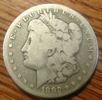 1882-S MORGAN SILVER DOLLAR  CIRCULATED COIN 2