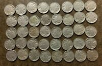 ROLL  40 COINS  BUFFALO/INDIAN HEAD NICKELS   FULL DATES   N