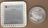 1995 CANADA PROOF SILVER DOLLAR   325TH ANNIVERSARY OF HUDSO
