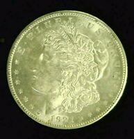 1921-D MORGAN SILVER DOLLAR BU   7965