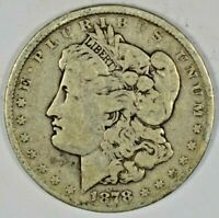 1878 SILVER MORGAN DOLLAR B641.5