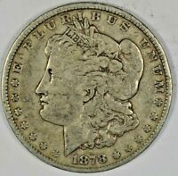 1878 SILVER MORGAN DOLLAR B641.7