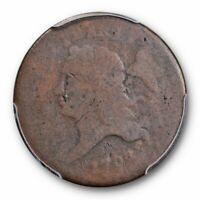 1793 1/2C LIBERTY CAP HALF CENT PCGS FR 2 KEY DATE FIRST YEAR TYPE COIN