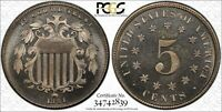 1881 5C SHIELD NICKEL PCGS PR 66 CAM PROOF CAMEO KEY DATE LOW MINTAGE