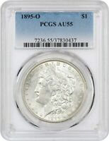1895-O $1 PCGS AU55 - KEY DATE FROM NEW ORLEANS - MORGAN SILVER DOLLAR