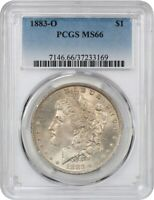 1883-O $1 PCGS MINT STATE 66 - MORGAN SILVER DOLLAR