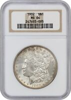 1902 $1 NGC MINT STATE 64 - MORGAN SILVER DOLLAR