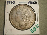 1902 MORGAN SILVER DOLLAR/ TONING  >:UNGRADED:<--SHIPS FREE------------