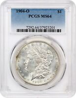 1904-O $1 PCGS MINT STATE 64 - MORGAN SILVER DOLLAR