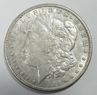 1899-S MORGAN DOLLAR ALMOST UNCIRCULATED SILVER DOLLAR