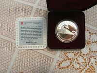1986 CANADIAN SILVER PROOF DOLLAR  VANCOUVER CENTENARYCASED WITH COA..