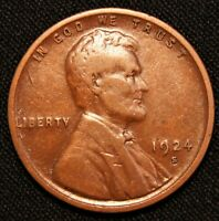 1924-S LINCOLN CENT WHEAT CENT