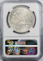 1878 CC $1 MORGAN DOLLAR NGC AU 55 ABOUT UNCIRCULATED ROTATED DIES MINT ERROR