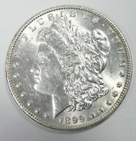 1899 MORGAN DOLLAR ALMOST UNCIRCULATED/BRILLIANT UNC SILVER DOLLAR