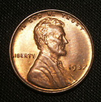 1937 LINCOLN CENT WHEAT CENT - RED BU